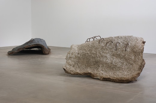 Ruben Ochoa: grounded Installation view