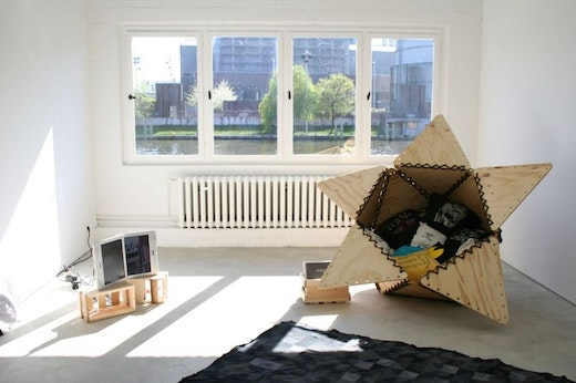 This is an artwork titled Installation View by artist Sean Duffy made in 2007