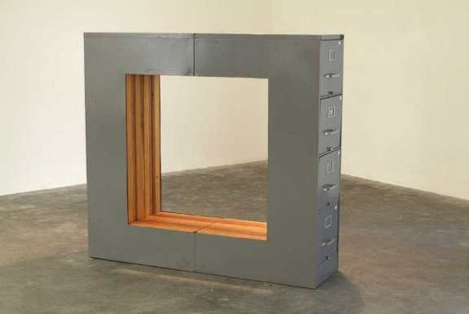 This is an artwork titled Steelcase by artist Sean Duffy made in 2004
