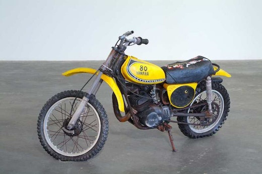 This is an artwork titled Third Motorcycle by artist Sean Duffy made in 2006