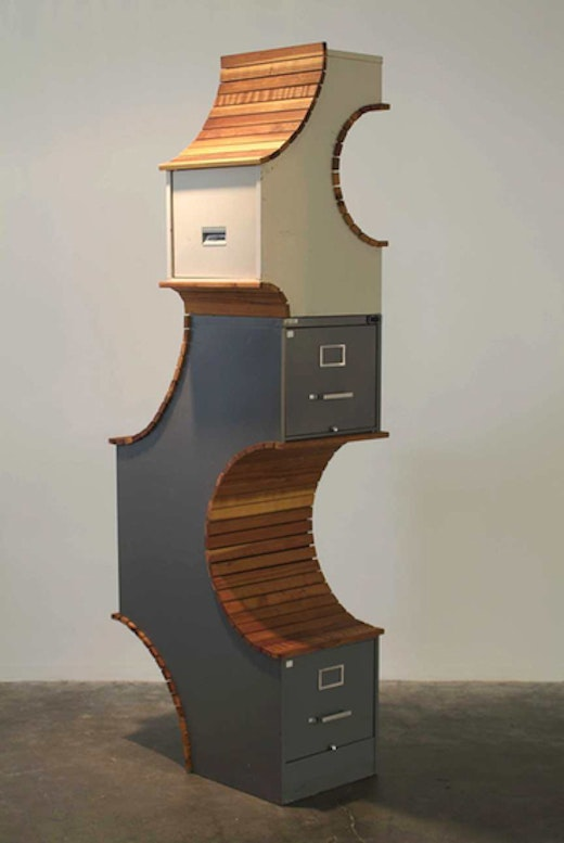 This is an artwork titled Fortress by artist Sean Duffy made in 2004