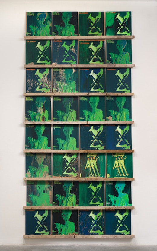 This is an artwork titled X's and O's by artist Sean Duffy made in 2009