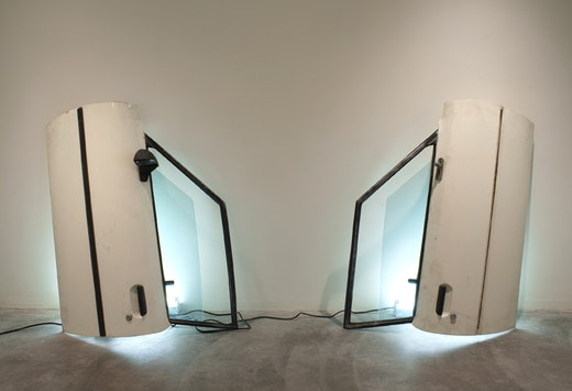 This is an artwork titled Doors by artist Sean Duffy made in 2009