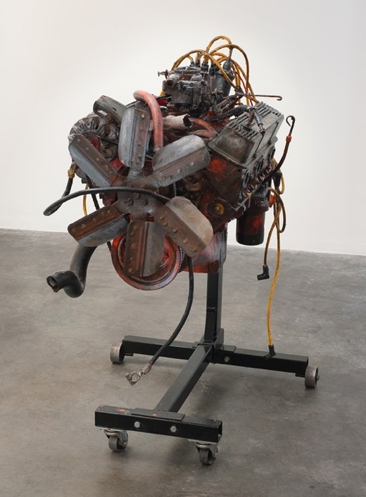 This is an artwork titled Small Block by artist Sean Duffy made in 2009