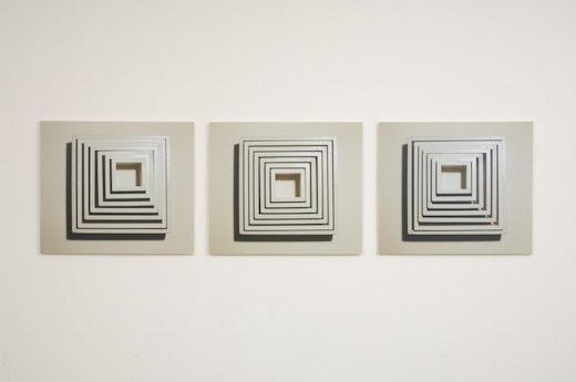 This is an artwork titled Re-formation and Counter Re-formation (study no.1), Re-formation and Counter Re-formation (study no.2), Re-formation and Counter Re-formation (study no.3) by artist Shana Lutker made in 2008