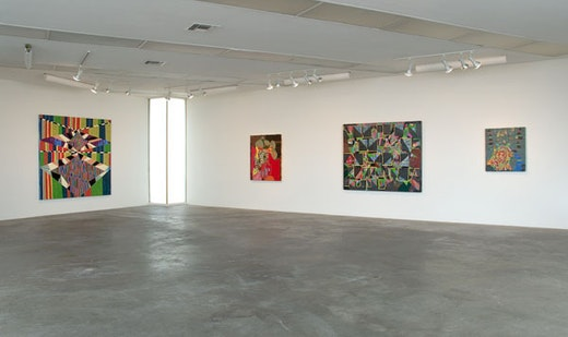 Steve Roden: Lines and Spaces Installation view