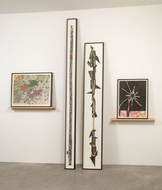 This is an artwork titled Installation View by artist Steve Roden made in 2008
