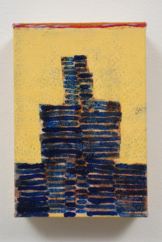This is an artwork titled il templo by artist Steve Roden made in 2010