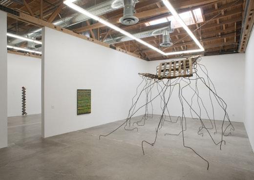 Steve Roden, Jedediah Caesar, Ruben Ochoa Installation view