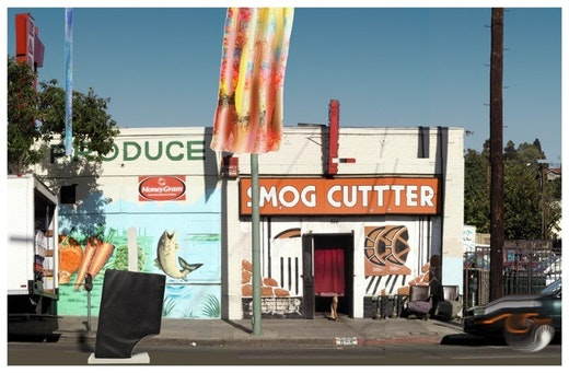 This is an artwork titled Untitled (Smog Cutter) by artist Steven Criqui made in 2003