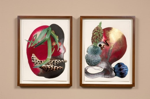 This is an artwork titled You pretty, no you pretty by artist Wangechi Mutu made in 2008