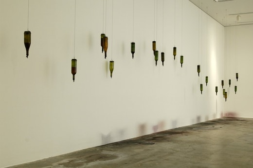 This is an artwork titled Installation View by artist Wangechi Mutu made in 2005