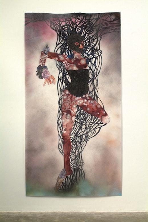 Wangechi Mutu Tree Spirit, 2004-2006