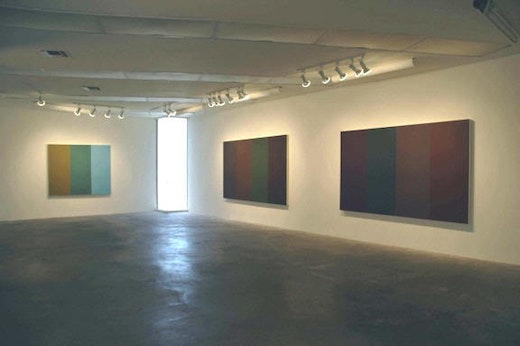 This is an artwork titled Installation view by artist Yunhee Min made in 2005