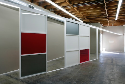 This is an artwork titled Continuum: Structure #003 by artist Yunhee Min made in 2008