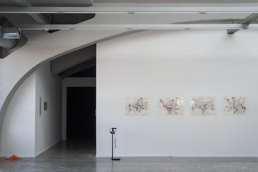 Steve Roden Kunsthalle Mulhouse, Installation View