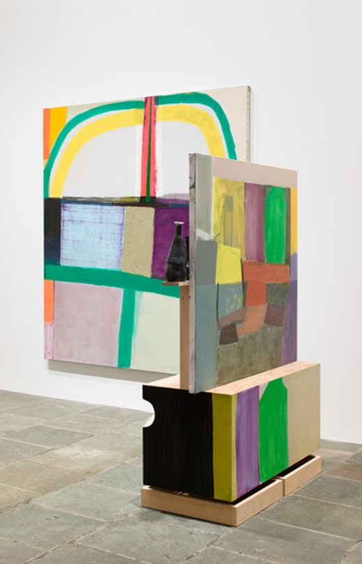 Amy Sillman 2014 Whitney Biennial: Amy Sillman, collaboration with Pam Lins