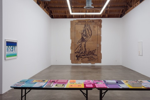 Andrea Bowers: Help the Work Along Installation view