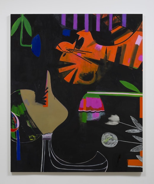This is an artwork titled Letter to Motorcraft Ltd by artist Ellen Berkenblit made in 2015