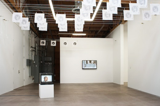 Dave McKenzie Where the Good Lord Split You Installation view