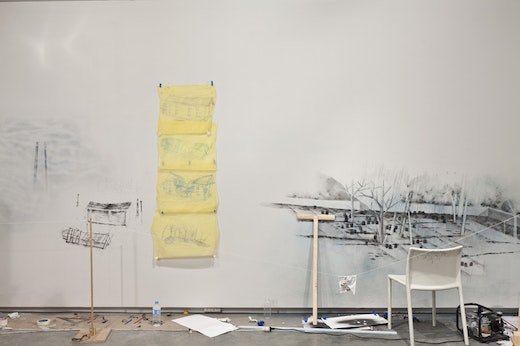 This is an artwork titled Marking Time by artist Edgar Arceneaux made in 2012