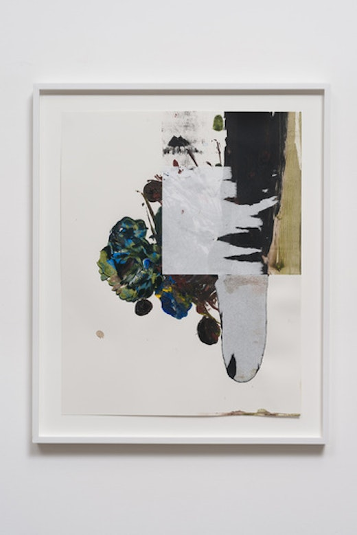 This is an artwork titled Ballasting to Near Vertical by artist Elizabeth Neel made in 2012