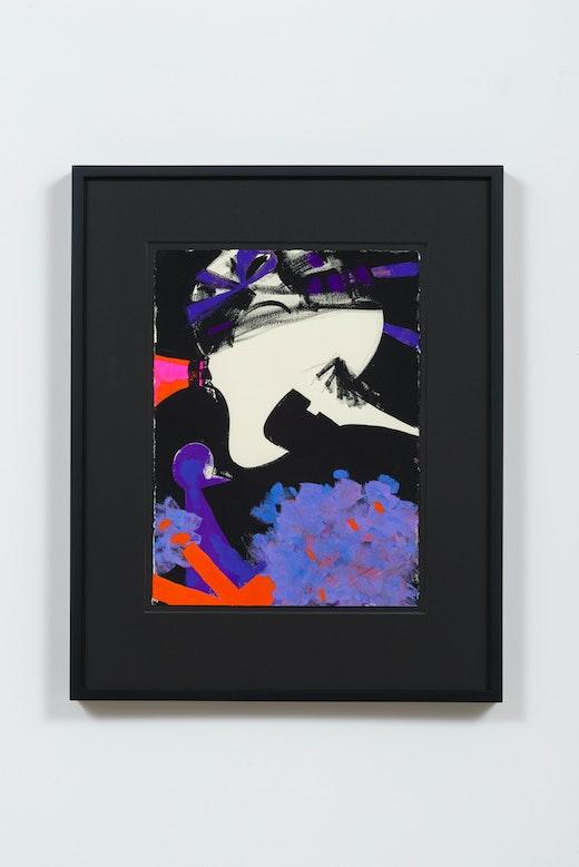 This is an artwork titled Untitled by artist Ellen Berkenblit made in 2015