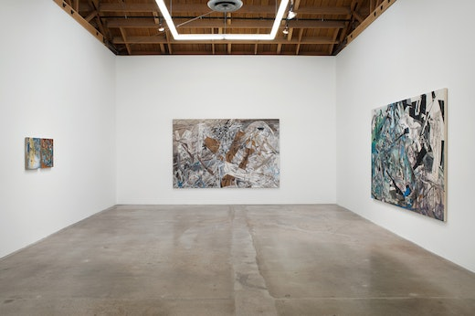 Iva Gueorguieva: Recoiling Earth Installation View