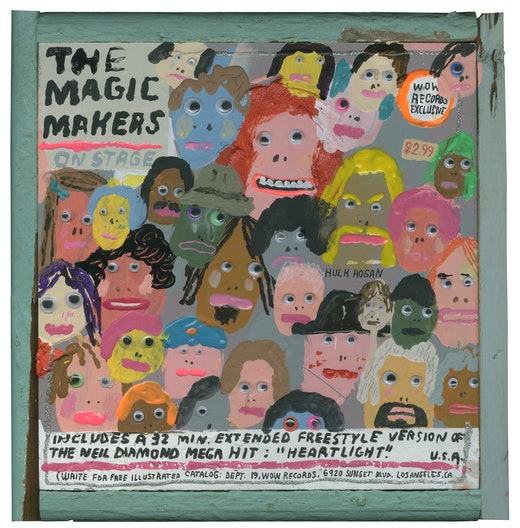 This is an artwork titled The Magic Makers by artist Mark Todd made in 2018