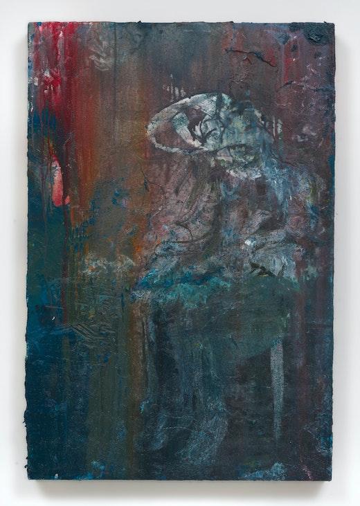 This is an artwork titled Bucky by artist Raffi Kalenderian made in 2016