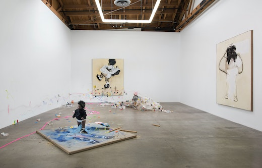"""""""THE AFTERTHOUGHT"""" Installation View"""