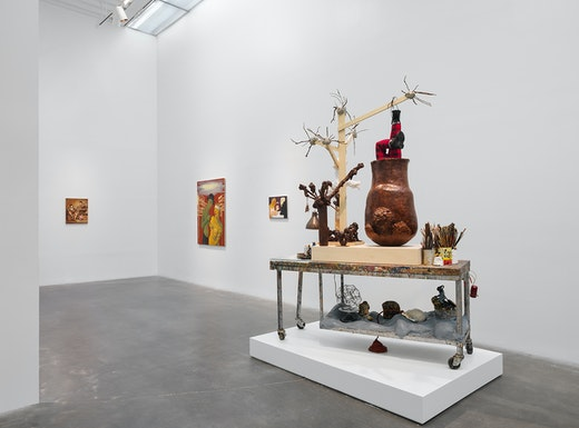 Nicole Eisenman Installation View