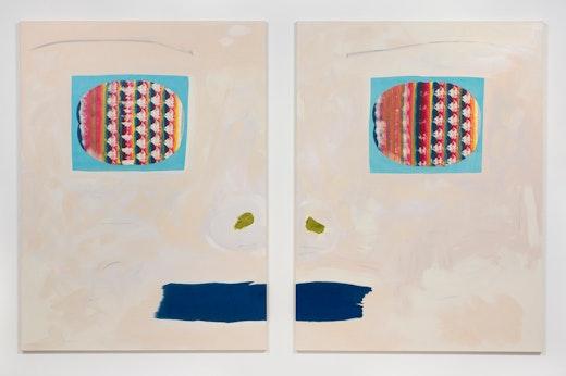 Monique van Genderen Manufactured Paintings, 2015, Installation view, SVLAP Solo Show, February 21 - April 4, 2015; Photo credit: Robert Wedemeyer