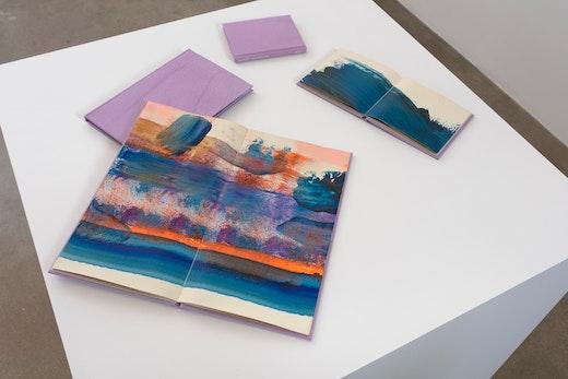 Monique van Genderen: Manufactured Paintings Installation view