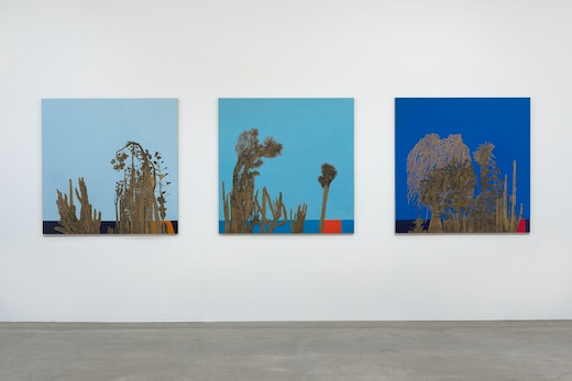 The Left Coast Installation view