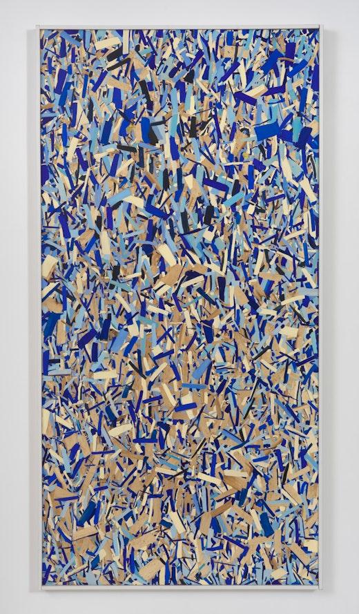 "Kim Dingle ""HOME DEPOT COLORING BOOK (rain),"" 2017"