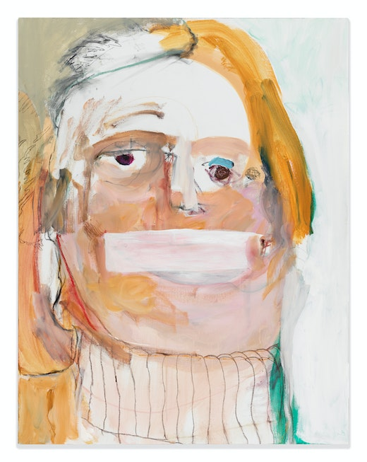 This is an artwork titled Hillary by artist Margot Bergman made in 2016