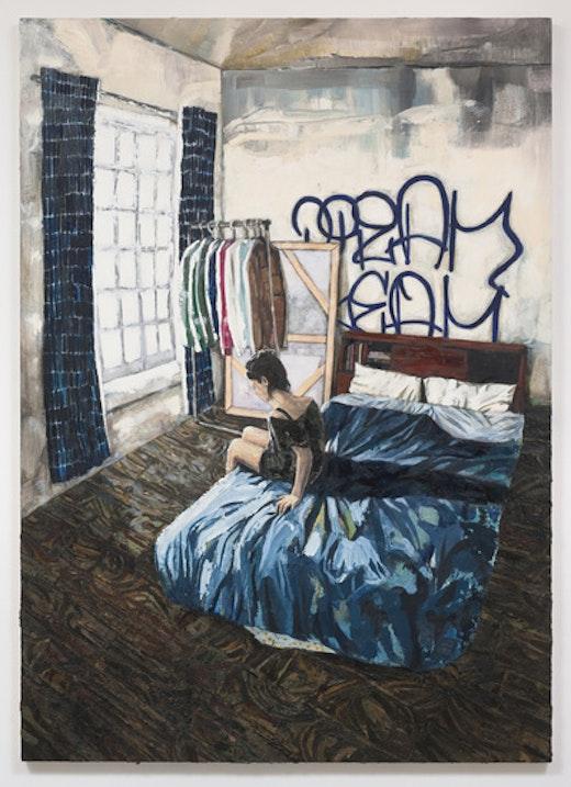 This is an artwork titled Al (Bushwick) by artist Raffi Kalenderian made in 2014