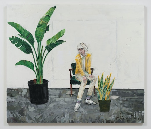 This is an artwork titled Dasha (Plants) by artist Raffi Kalenderian made in 2014