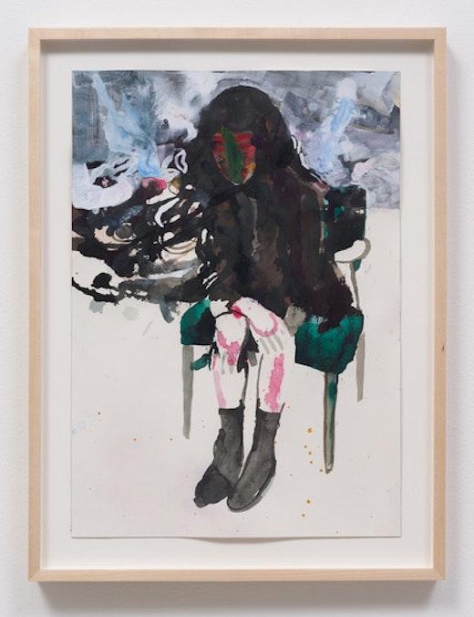 This is an artwork titled Liz 'G. Green' by artist Raffi Kalenderian made in 2014