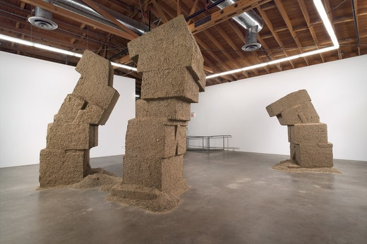 Ruben Ochoa: Dislocated Masses Installation view
