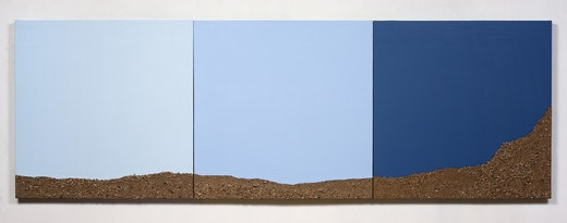 This is an artwork titled Darkening Sky by artist Ruben Ochoa made in 2014