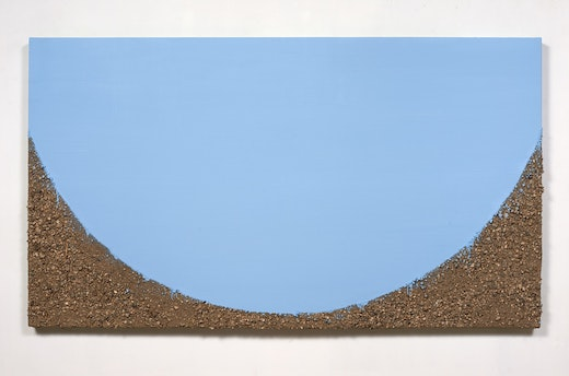 This is an artwork titled Cloudless Day by artist Ruben Ochoa made in 2014