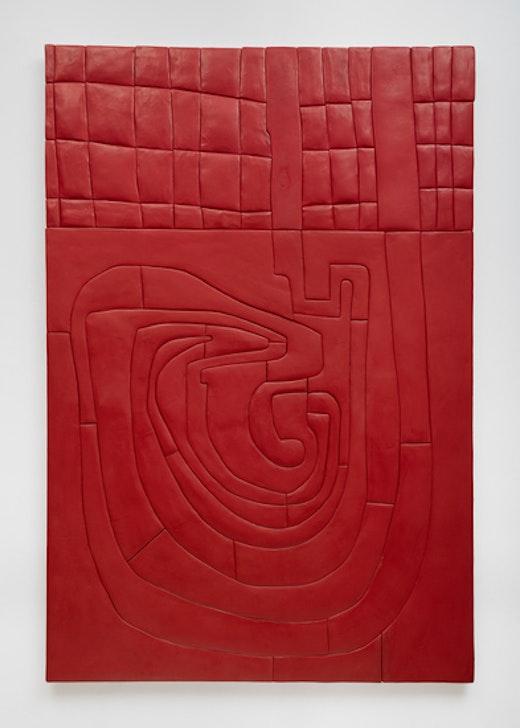 """Sadie Benning """"Red Maze Monochrome,"""" 2014"""