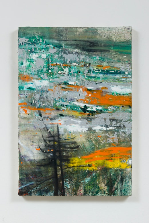 This is an artwork titled Landscape Study (Wyoming I) by artist Raffi Kalenderian made in 2016