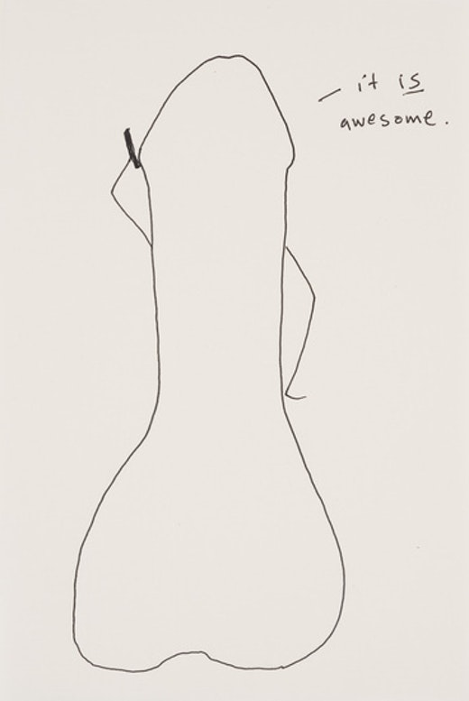 "Stanya Kahn ""it IS awesome,"" 2012"