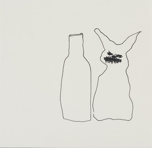 This is an artwork titled With bottle by artist Stanya Kahn made in 2012