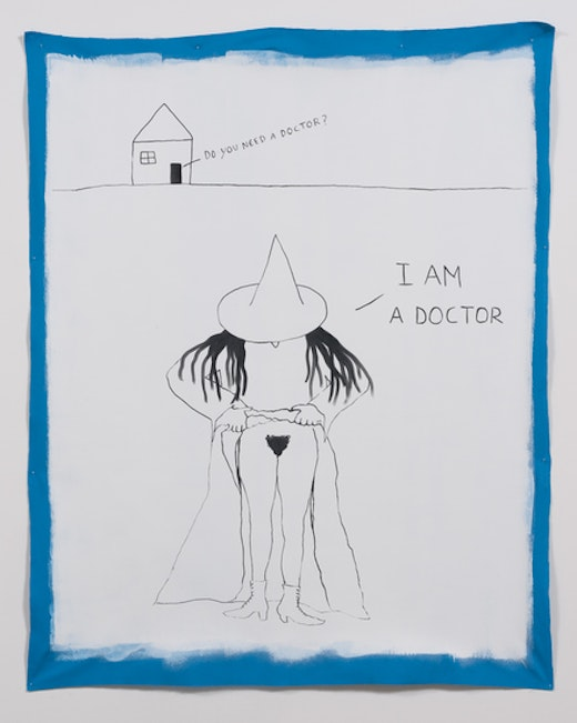 This is an artwork titled That witch can't be stopped by artist Stanya Kahn made in 2014