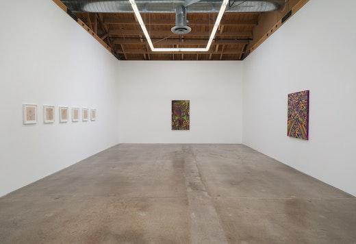 Steve Roden ragpicker, 2013 Installation view
