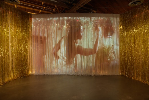 This is an artwork titled She seas dance by artist Wangechi Mutu made in 2012